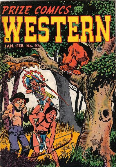 Cover for Prize Comics Western (Prize, 1948 series) #v11#6 (97)