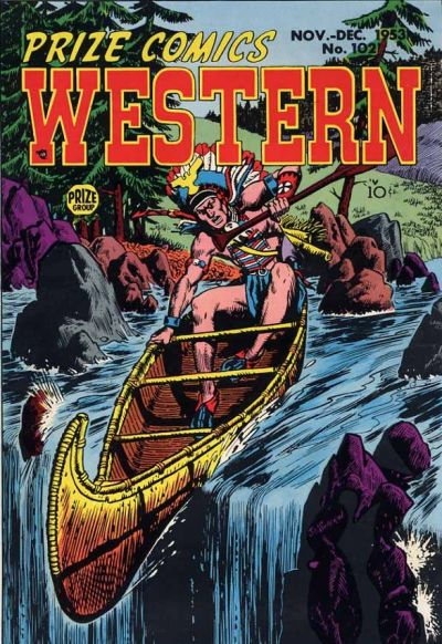 Cover for Prize Comics Western (Prize, 1948 series) #v12#5 (102)