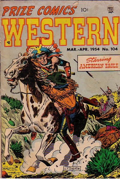 Cover for Prize Comics Western (Prize, 1948 series) #v13#1 (104)