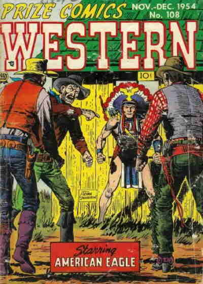 Cover for Prize Comics Western (Prize, 1948 series) #v13#5 (108)