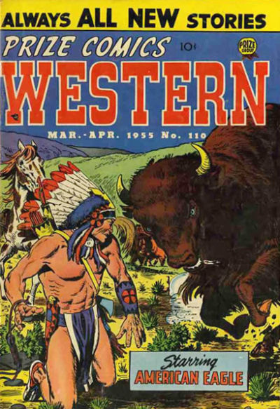 Cover for Prize Comics Western (Prize, 1948 series) #v14#1 (110)