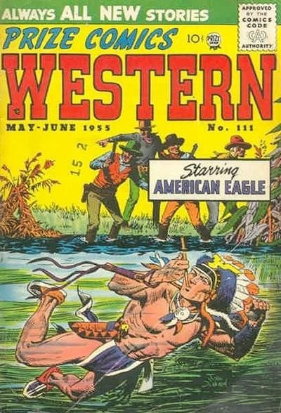 Cover for Prize Comics Western (Prize, 1948 series) #v14#2 (111)