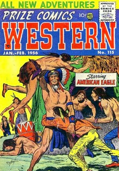 Cover for Prize Comics Western (Prize, 1948 series) #v14#6 (115)