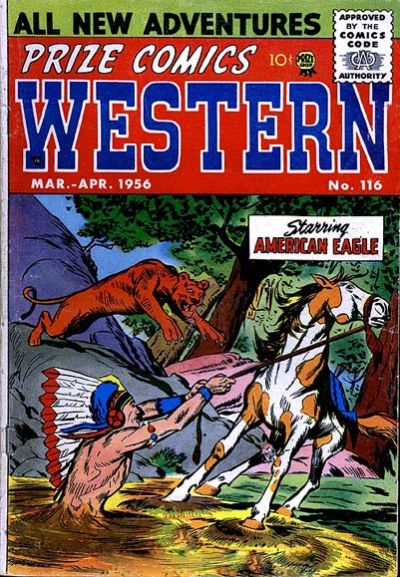 Cover for Prize Comics Western (Prize, 1948 series) #v15#1 (116)