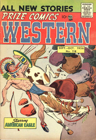 Cover for Prize Comics Western (Prize, 1948 series) #v15#3 (118)