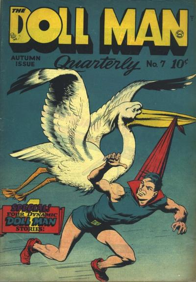 Cover for Doll Man (Quality Comics, 1941 series) #7