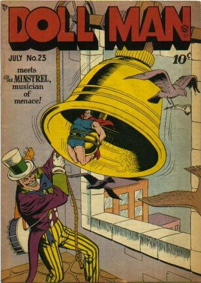 Cover for Doll Man (Quality Comics, 1941 series) #23