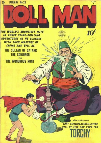 Cover for Doll Man (Quality Comics, 1941 series) #26