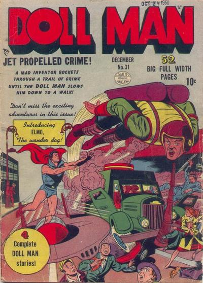 Cover for Doll Man (Quality Comics, 1941 series) #31