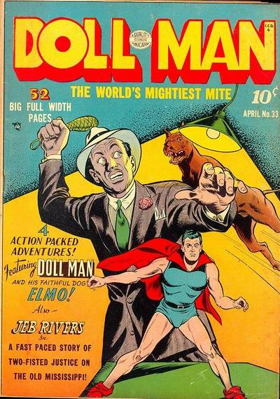 Cover for Doll Man (Quality Comics, 1941 series) #33