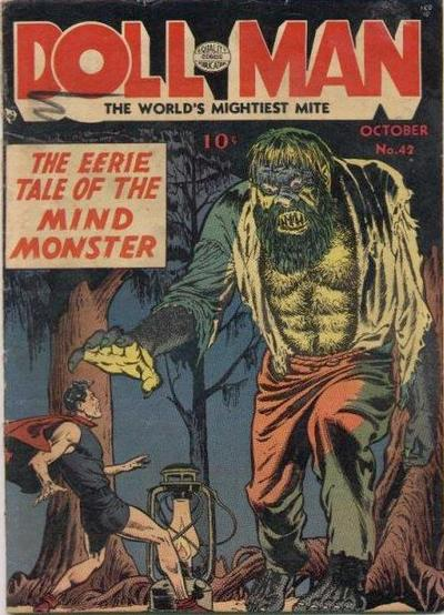 Cover for Doll Man (Quality Comics, 1941 series) #42
