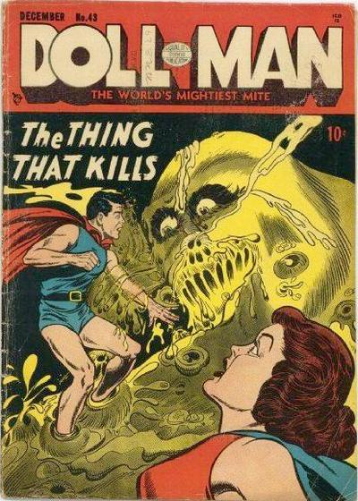 Cover for Doll Man (Quality Comics, 1941 series) #43