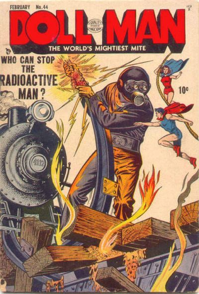 Cover for Doll Man (Quality Comics, 1941 series) #44