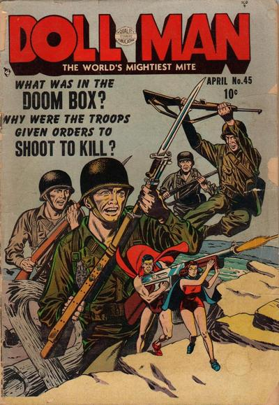 Cover for Doll Man (Quality Comics, 1941 series) #45