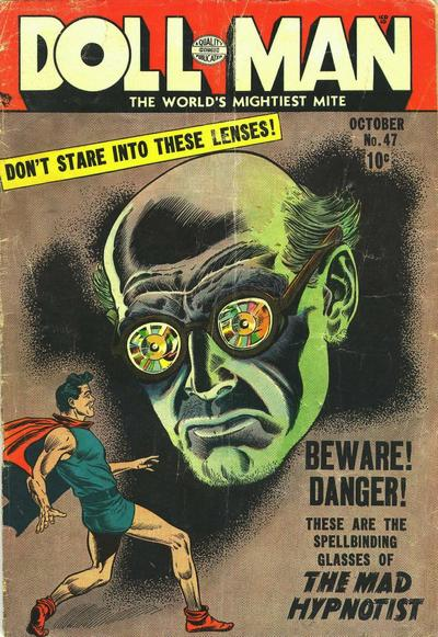 Cover for Doll Man (Quality Comics, 1941 series) #47