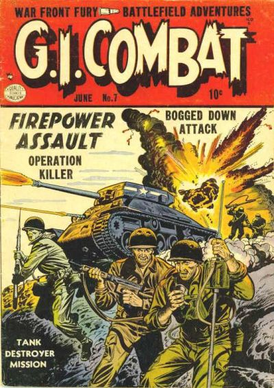 Cover for G.I. Combat (Quality Comics, 1952 series) #7
