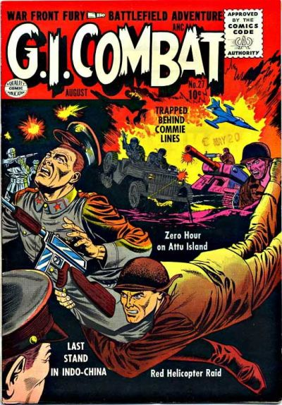 Cover for G.I. Combat (Quality Comics, 1952 series) #27
