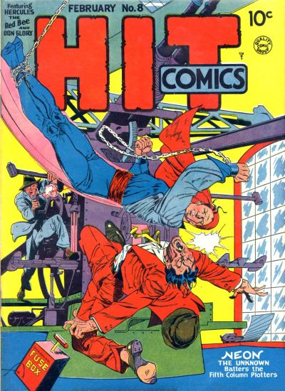 Cover for Hit Comics (Quality Comics, 1940 series) #8