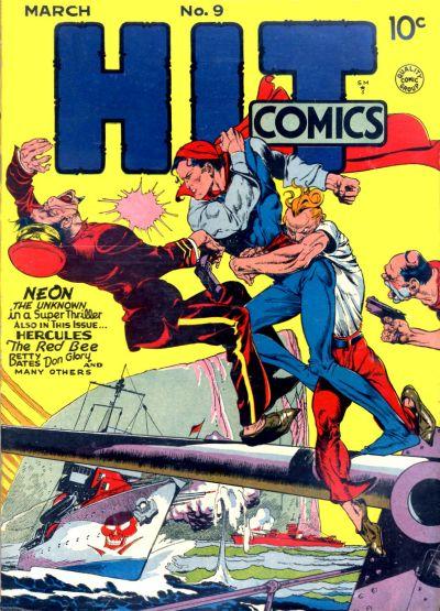 Cover for Hit Comics (Quality Comics, 1940 series) #9