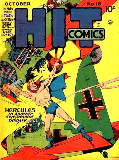 Cover for Hit Comics (Quality Comics, 1940 series) #16