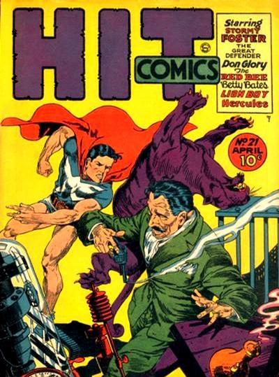 Cover for Hit Comics (Quality Comics, 1940 series) #21