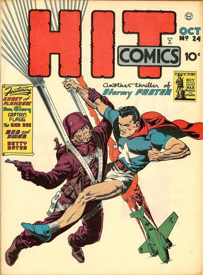 Cover for Hit Comics (Quality Comics, 1940 series) #24
