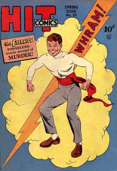 Cover for Hit Comics (Quality Comics, 1940 series) #35