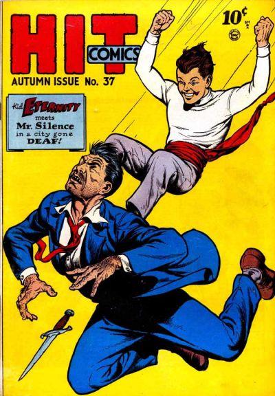 Cover for Hit Comics (Quality Comics, 1940 series) #37