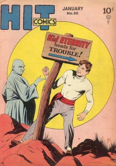 Cover for Hit Comics (Quality Comics, 1940 series) #50