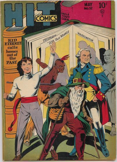 Cover for Hit Comics (Quality Comics, 1940 series) #52