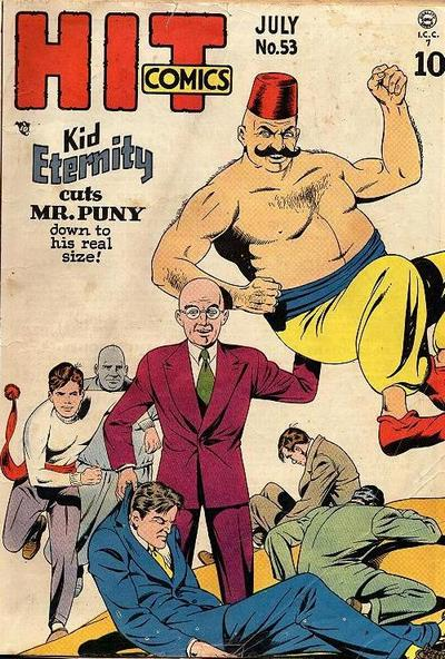 Cover for Hit Comics (Quality Comics, 1940 series) #53