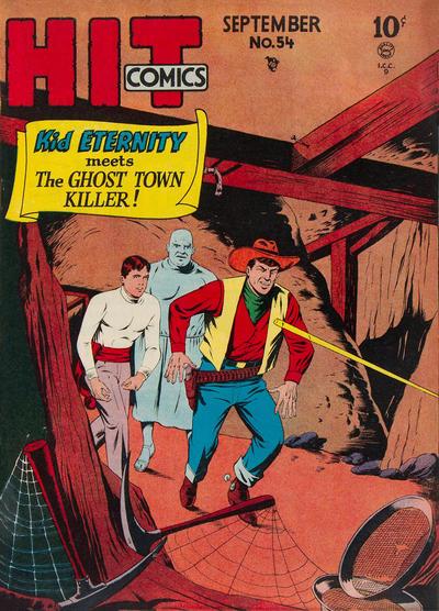 Cover for Hit Comics (Quality Comics, 1940 series) #54