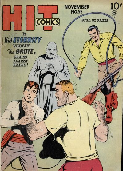 Cover for Hit Comics (Quality Comics, 1940 series) #55