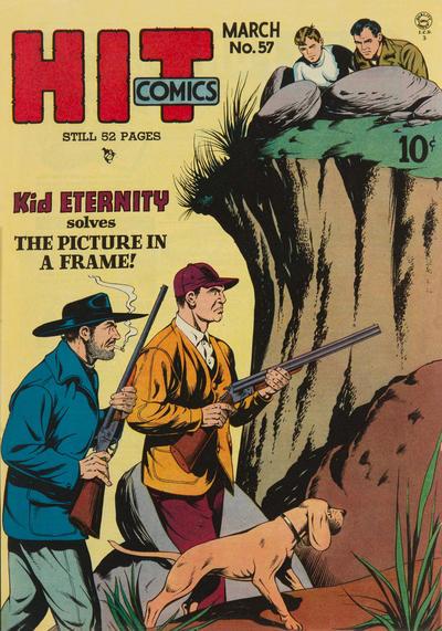 Cover for Hit Comics (Quality Comics, 1940 series) #57
