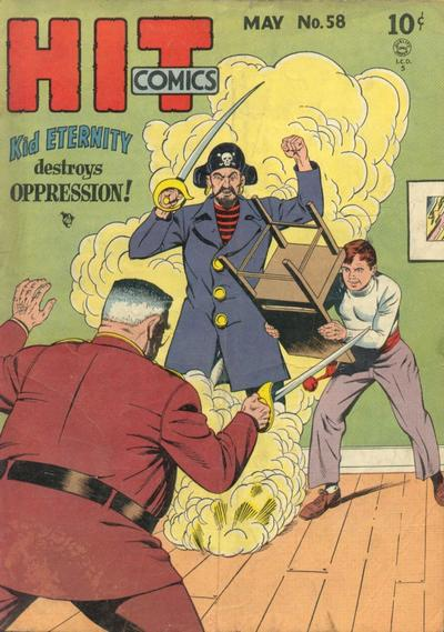 Cover for Hit Comics (Quality Comics, 1940 series) #58