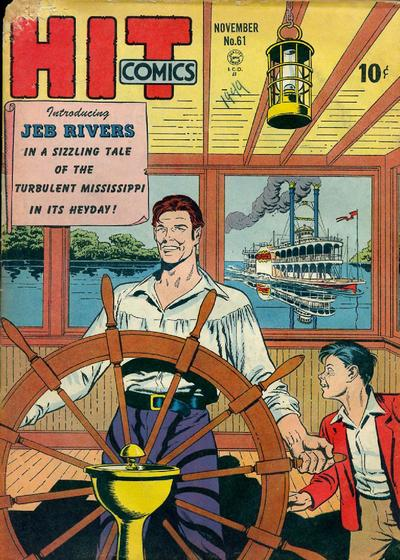 Cover for Hit Comics (Quality Comics, 1940 series) #61