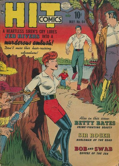 Cover for Hit Comics (Quality Comics, 1940 series) #64
