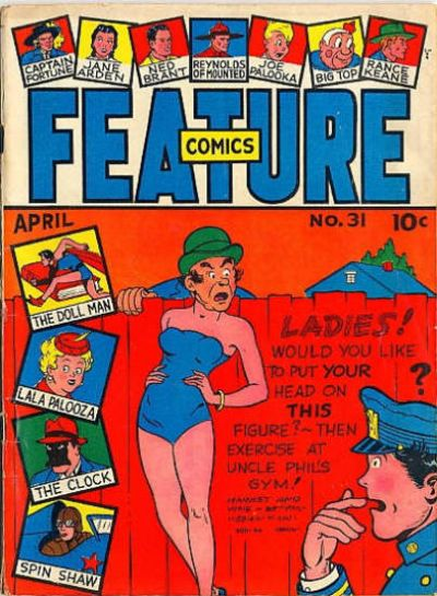 Cover for Feature Comics (Quality Comics, 1939 series) #31