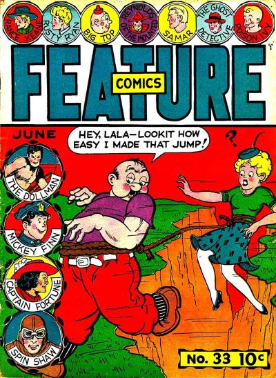 Cover for Feature Comics (Quality Comics, 1939 series) #33