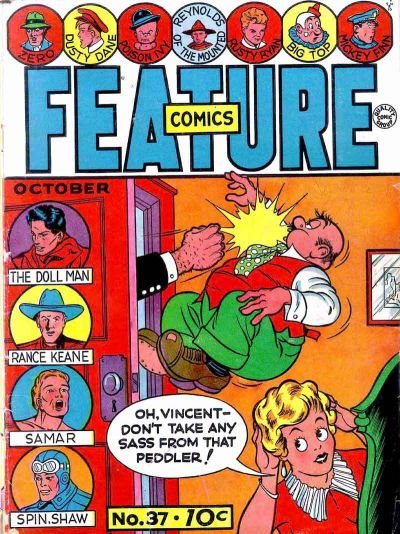 Cover for Feature Comics (Quality Comics, 1939 series) #37