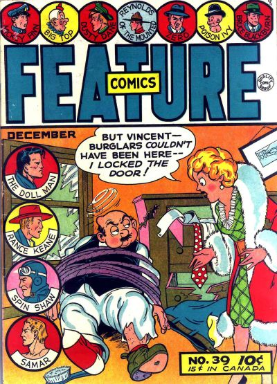Cover for Feature Comics (Quality Comics, 1939 series) #39