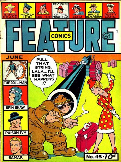 Cover for Feature Comics (Quality Comics, 1939 series) #45