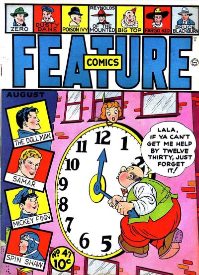 Cover for Feature Comics (Quality Comics, 1939 series) #47