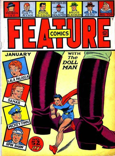 Cover for Feature Comics (Quality Comics, 1939 series) #52