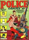 Cover for Police Comics (Quality Comics, 1941 series) #1