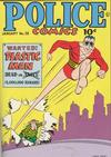 Cover for Police Comics (Quality Comics, 1941 series) #38
