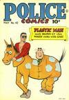 Cover for Police Comics (Quality Comics, 1941 series) #42