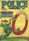 Cover for Police Comics (Quality Comics, 1941 series) #58