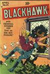 Cover for Blackhawk (Quality Comics, 1944 series) #24