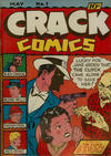 Cover for Crack Comics (Quality Comics, 1940 series) #1